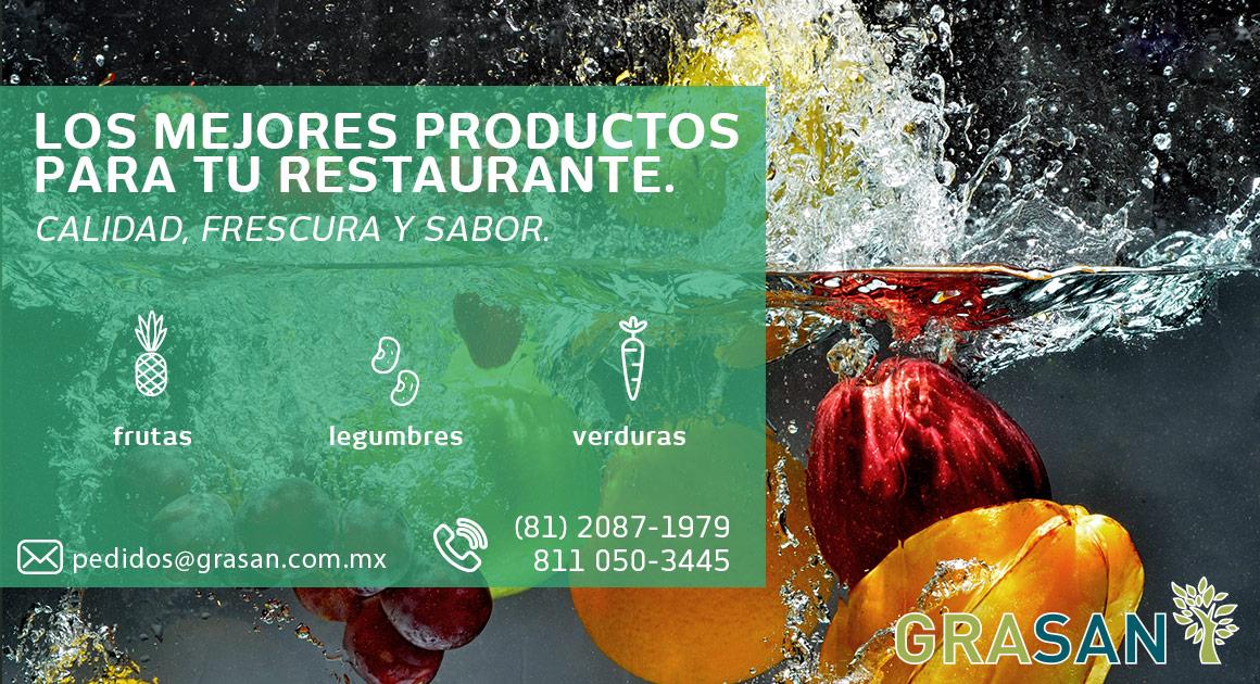 Grasan proveedor de frutas y verduras en monterrey y for Cocinas industriales monterrey